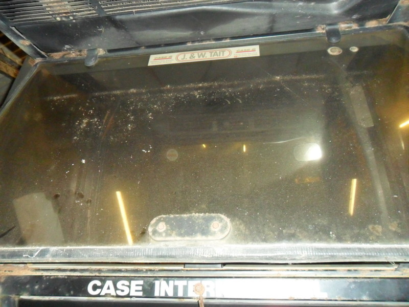 Case Tractor Glass